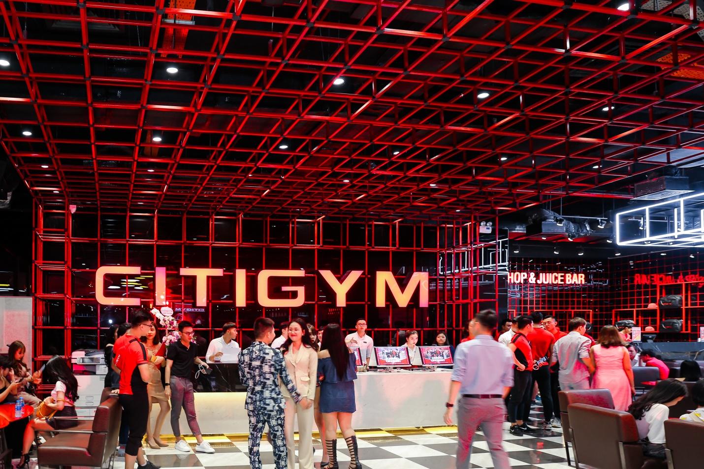 CITIGYM - top các địa điểm tập yoga tại tphcm uy tín