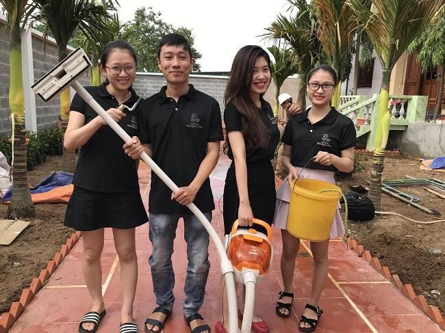Dịch vụ vệ sinh công nghiệp Kim Quốc Tiến