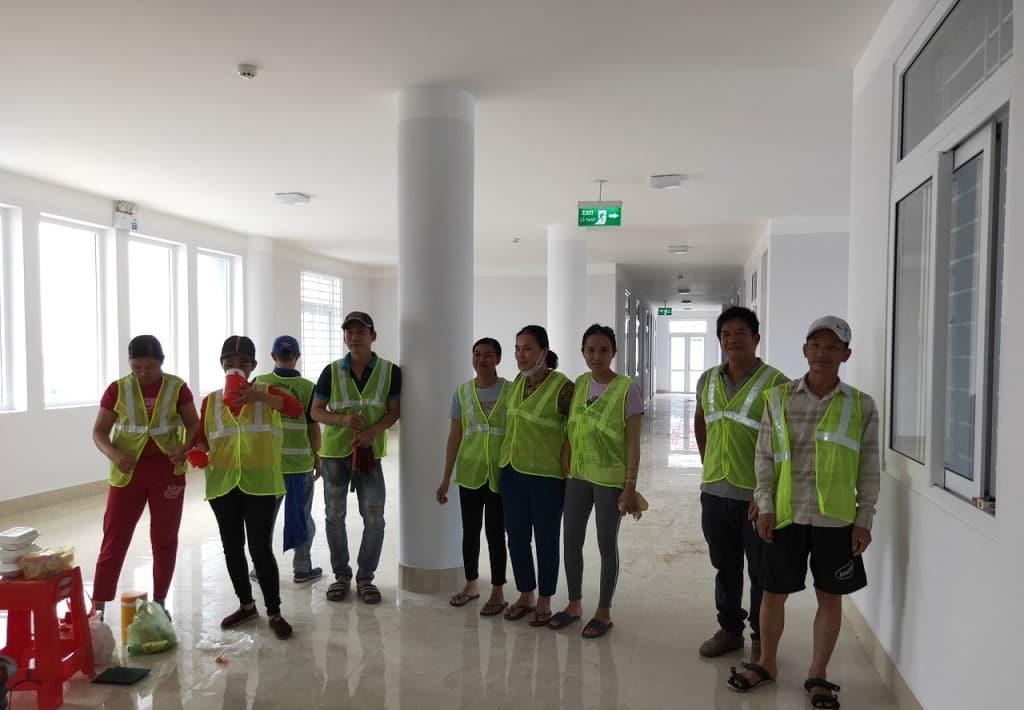 Công Ty Vệ Sinh 24H (Nice House) - Dịch vụ vệ sinh công nghiệp giá rẻ tphcm