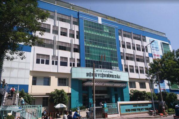 Bệnh viện Bình Dân - Phòng khám nam khoa uy tín tại tphcm