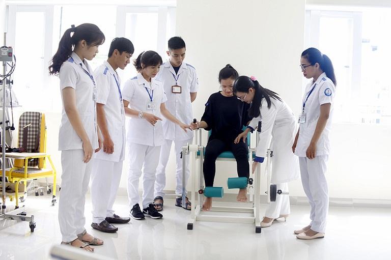 Bệnh viện phục hồi chức năng điều trị bệnh nghề nghiệp