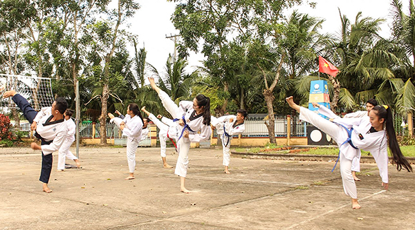 CLB võ thuật Bằng Long Hải - Lớp dạy võ taekwondo tphcm