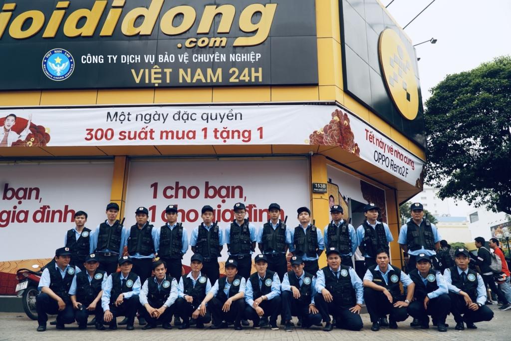 Công ty Dịch Vụ Bảo Vệ Chuyên Nghiệp Việt Nam 24H (VN24H)