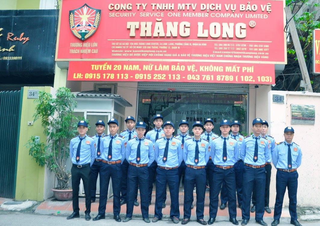 Công Ty Bảo vệ Thăng Long