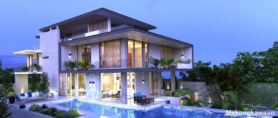Công ty thiết kế nội thất Mekongkawa