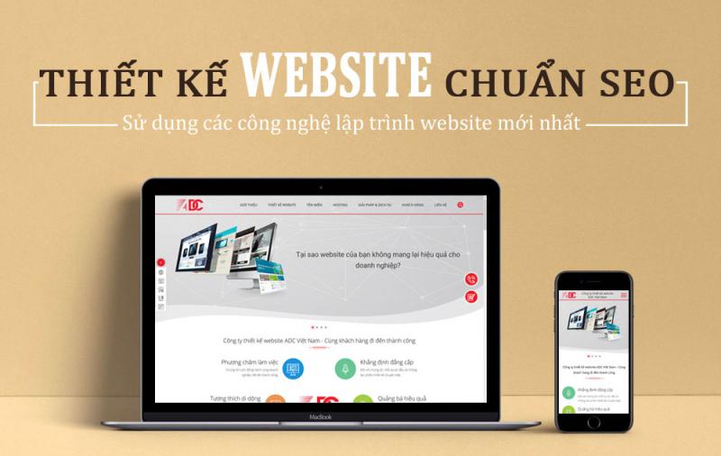 Công ty thiết kế web chuyên nghiệp ADC