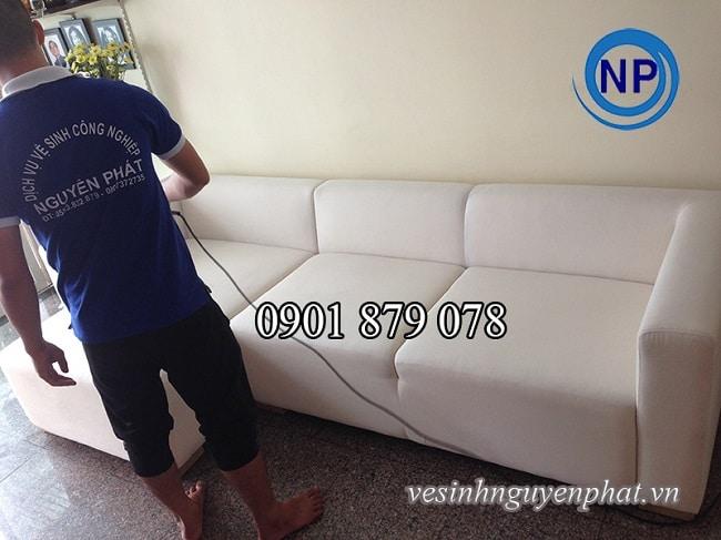 Dịch vụ làm sạch ghế sofa Nguyên Phát