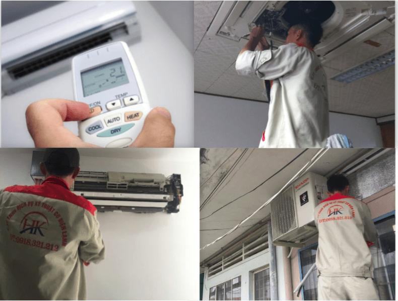 Điện Lạnh HK - Dịch vụ sửa máy lạnh giá rẻ.