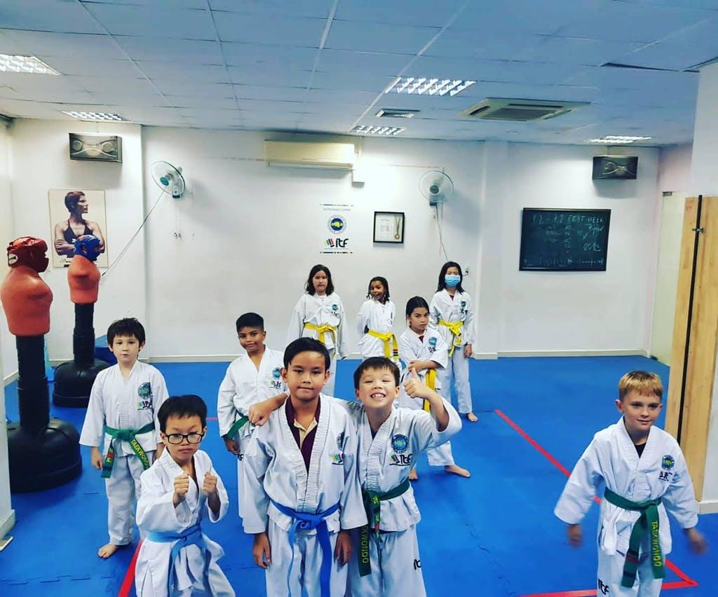 Học viện CaliKids - lớp học võ Taekwondo chất lượng tại tphcm