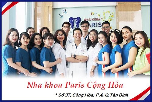 Nha khoa Paris - Nha khoa quận Tân Bình uy tín