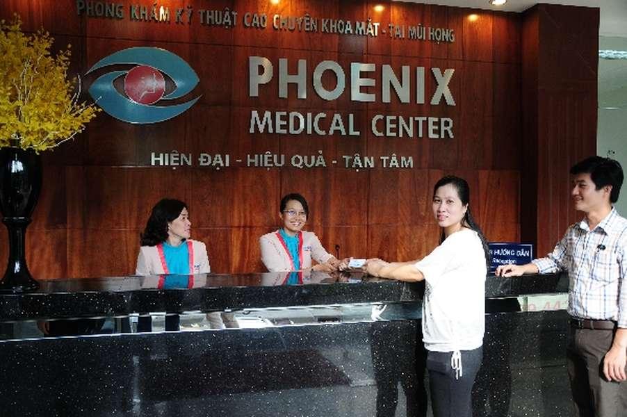 Phòng khám tai mũi họng ở tphcm Phoenix