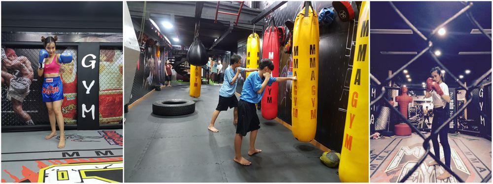 Phòng tập MMA GymFitness