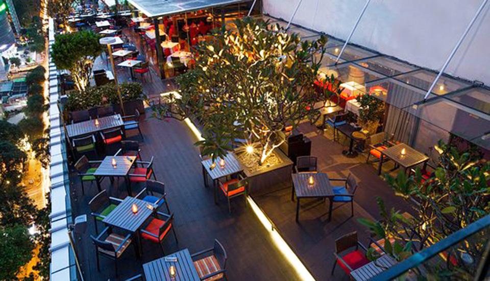 Quán Shri Rooftop Bar & Nhà hàng Sài Gòn
