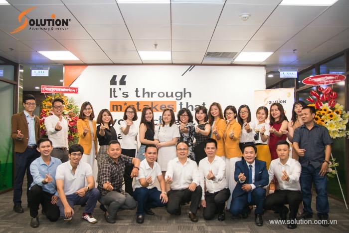 Đội ngũ nhân viên thiết kế Solution Group