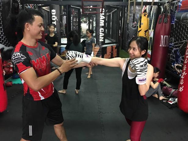 Tập Boxing Hcm tại Fitbox