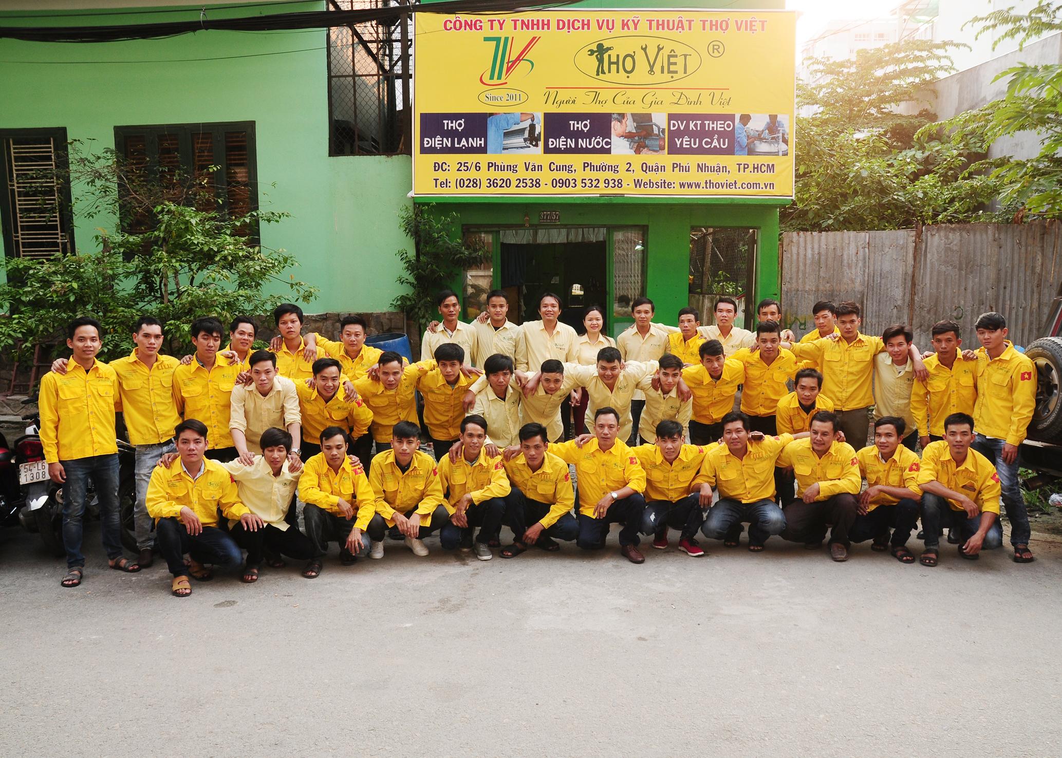 Thợ Việt - Sửa chữa máy lạnh dân dụng chuyên nghiệp