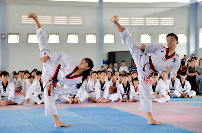 Top 6 lớp học võ taekwondo tốt nhất ở tphcm