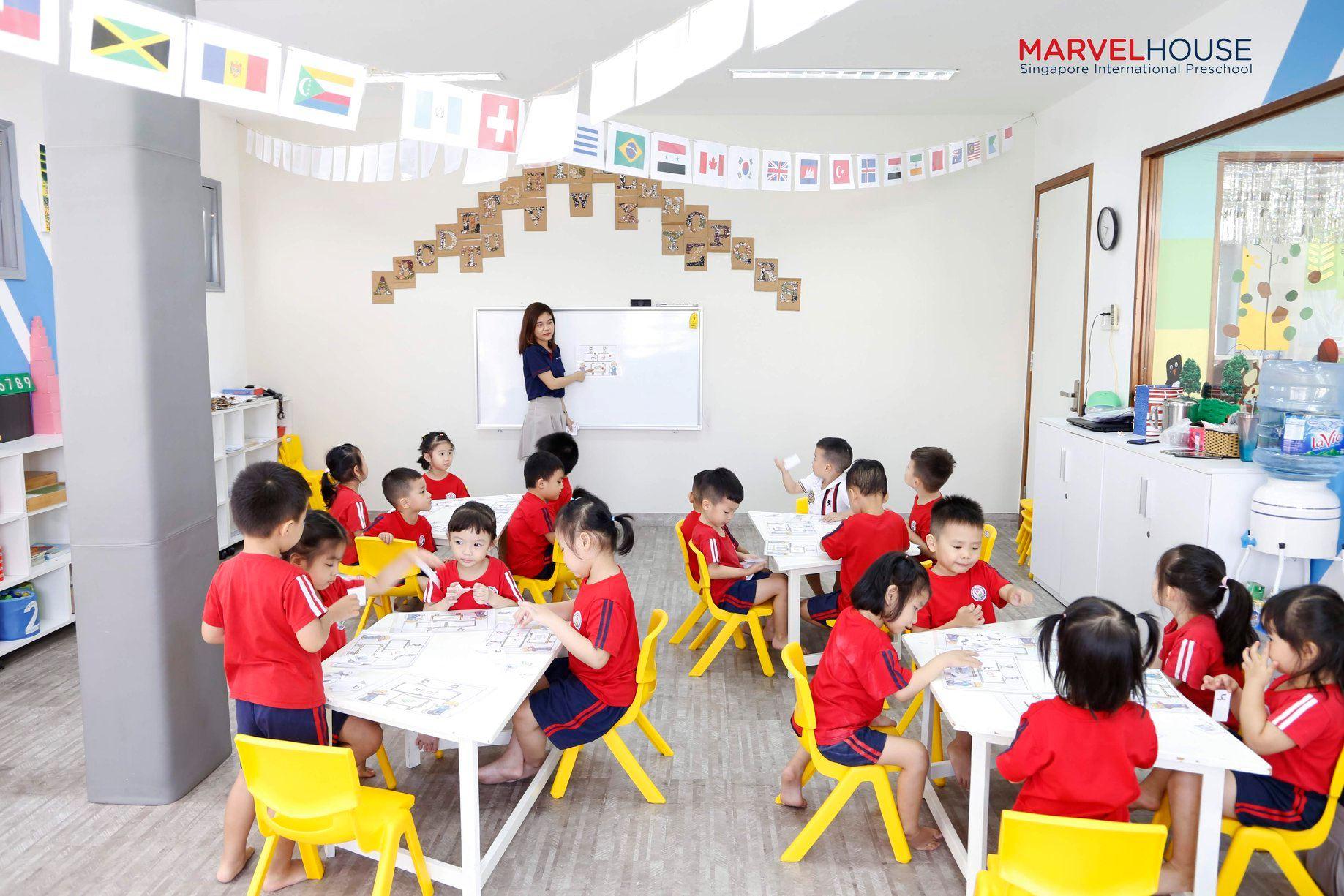 Trường mầm non quốc tế Marvel House singapore international