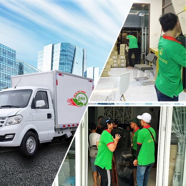 Chuyển nhà 24H - dịch vụ chuyển nhà giá rẻ TPHCM