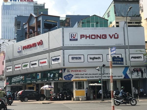 Bệnh viện máy tính tphcm Phong Vũ