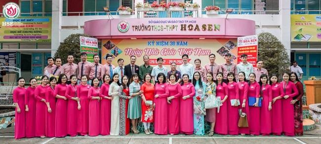 Giáo viên Trường THCS - THPT Hoa Sen