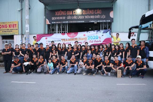 Nhân viên Công ty quảng cáo Sài Gòn CPA