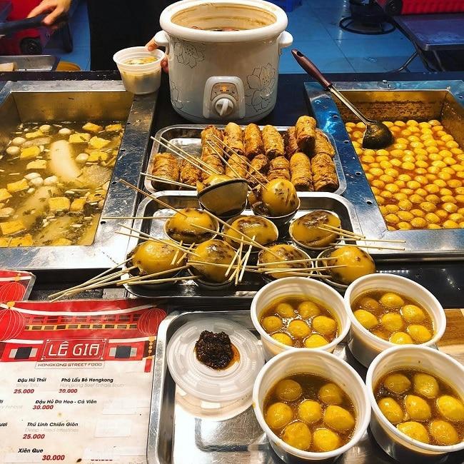 Quán HongKong Street Food Lê Gia - Ăn vặt Sài Gòn quận 5