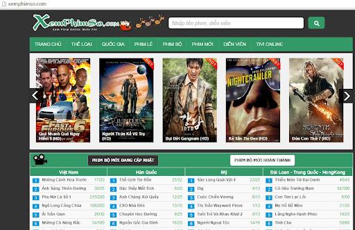 trang web xem phim hay online miễn phí chuẩn HD Xemphimso.com
