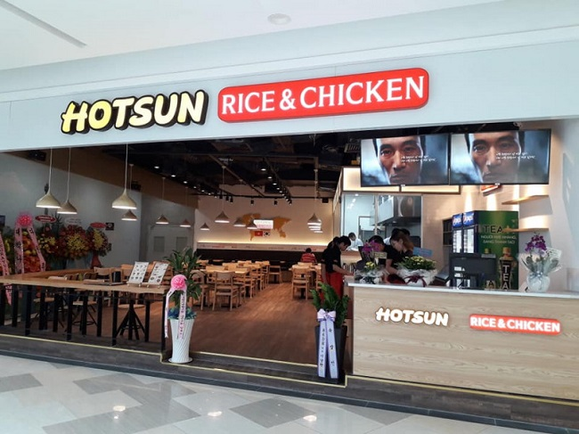 Hotsun Rice & Chicken - Quán ăn vặt ngon ở Quận 10