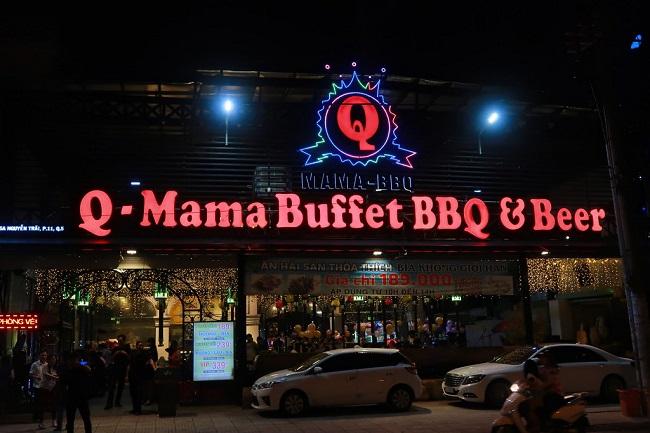 Q - Mama BBQ & Beer - Quán nướng quận 5
