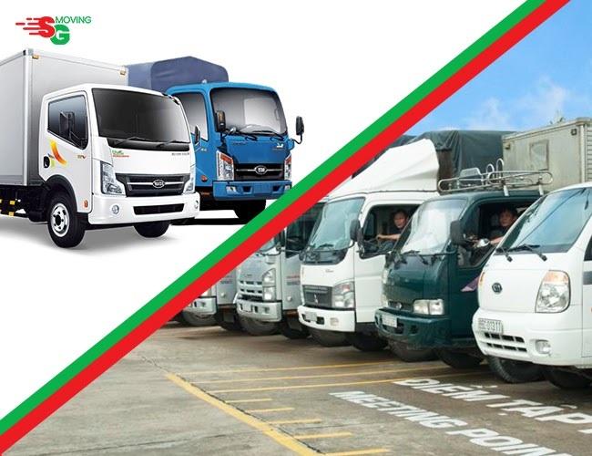 SG Moving - Dịch vụ cho thuê xe tải