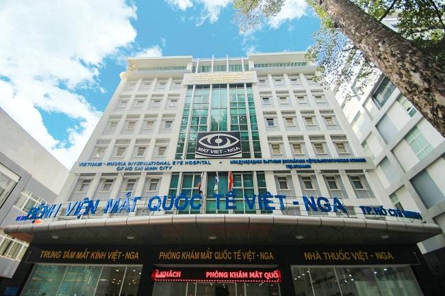Bệnh viện Mắt Quốc tế Việt – Nga - Địa chỉ khám mắt tại TPHCM