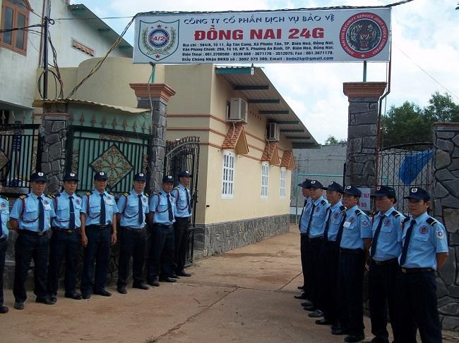 Công ty CP Dịch vụ Bảo vệ Phát Triển Đồng Nai 24G - Công ty dịch vụ bảo vệ Biên Hòa - Đồng Nai