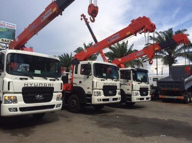 Vận tải Đường Việt - Dịch vụ cho thuê xe cẩu tại Hà Nội