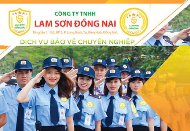 Công ty Bảo vệ Lam Sơn Đồng Nai - Công ty dịch vụ bảo vệ Biên Hòa - Đồng Nai