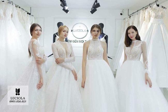 Luciola Bridal - Địa chỉ cho thuê váy cưới tại TPHCM