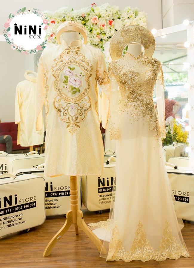 NiNi Store - Địa chỉ cho thuê váy cưới tại TPHCM