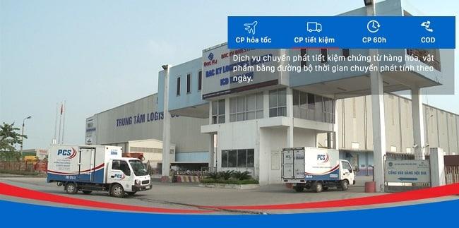 Pcspost - Dịch vụ chuyển phát nhanh tại Hà Nội