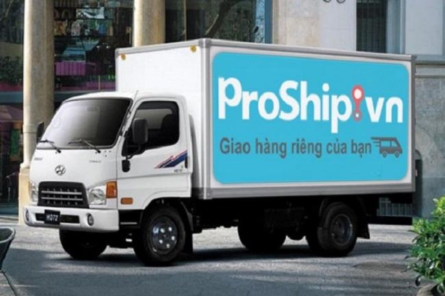 Proship - Dịch vụ cho thuê xe tải chở hàng