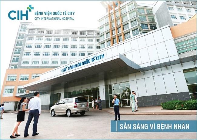 Chuyên khoa Mắt - Bệnh viện Quốc tế City - Địa chỉ khám mắt ở TPHCM