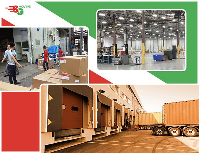 SG Moving - Dịch vụ chuyển kho xưởng trọn gói