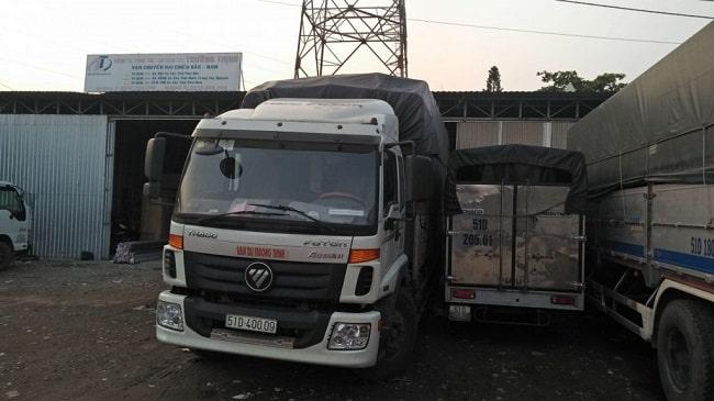 Vận Tải Trần Vinh - Chành xe Sài Gòn - Biên Hòa