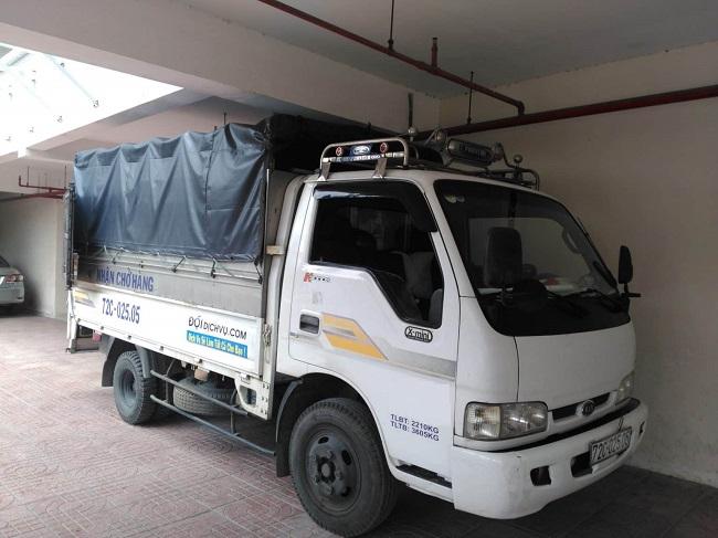 Vận tải 247 - Xe tải chở hàng giá rẻ