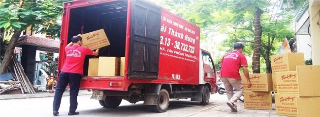 Vận Tải Thành Hưng - Dịch vụ chuyển kho xưởng trọn gói