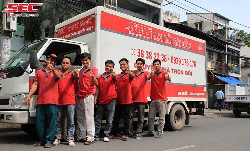 Xe tải chuyển dọn nhà trọn gói tphcm Saigon Express