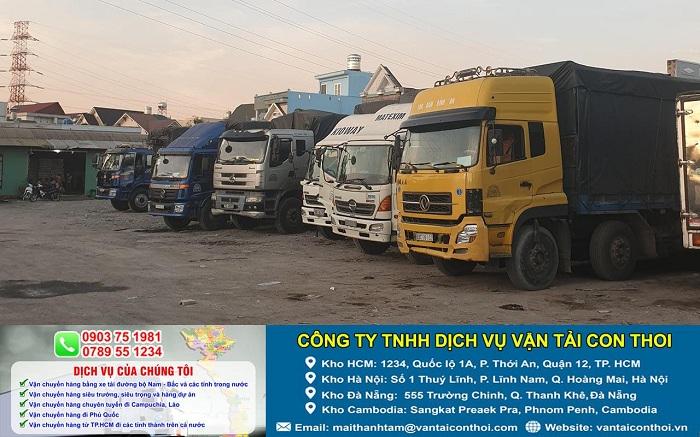 Công ty TNHH Dịch Vụ Vận Tải Con Thoi – Bình Thạnh