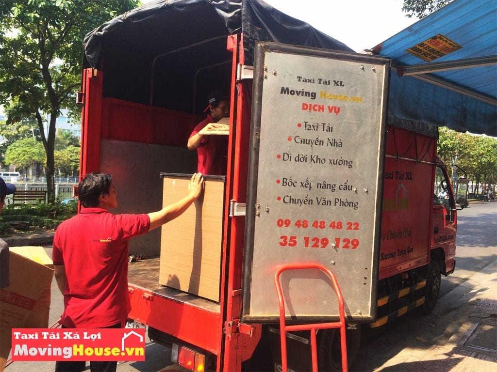 Taxi tải Xá Lợi MovingHouse – chuyển kho xưởng trọn gói tphcm