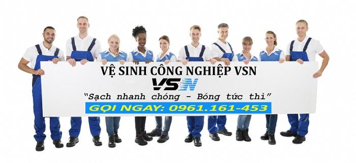 công ty dịch vụ vệ sinh tại tphcm VSN – Gò Vấp