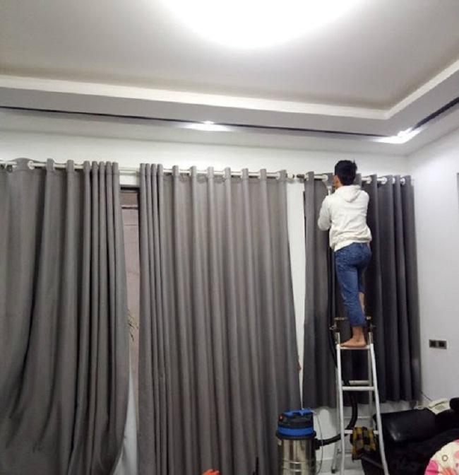 Gia Đình Việt (GIDIVI) - Dịch vụ giặt rèm cửa tại nhà
