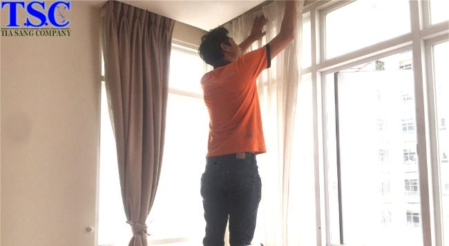 Tia Sáng - Giặt rèm cửa tại nhà